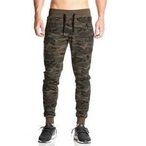 SJ Autumn new products listed 2016 bodybuilding fitness joggingg pants gyms Bodybuilding necessary camouflage pants-cgabuy
