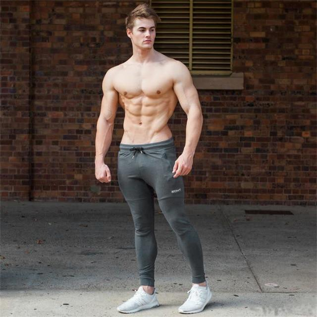 SJ joggers men 2017 Top quality casual pants men brand clothing male sweatpants trousers-cgabuy