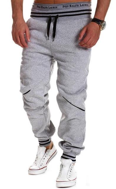Brand Men Pants Hip Hop Harem Joggers Pants 2018 Male Trousers Mens Joggers Solid Pants Sweatpants-cgabuy