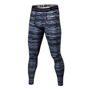 Pure Color Men Compression Pants Bodybuilding Joggers Fitness Quick Dry Skinny Leggings Mens Camouflage Crossfit Tights Trousers-cgabuy