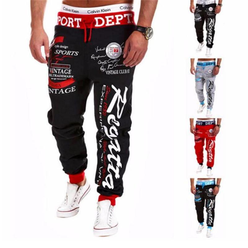 Pants 2016 Hot Sale Baggy Mens Letter Printing Baggy Harem Cool Long Pants Joggers Wear 21 Styles Plus Size M-XXXL Drawstring-cgabuy