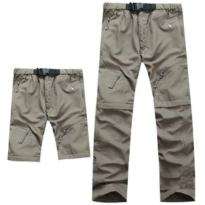 Detachable Quick Dry Men Pants 2018 Summer Waterproof Military Active Multifunction Trousers Pockets Women's Casual Cargo Pants-cgabuy