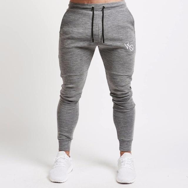 Mens Joggers Casual Pants Fitness Men Sportswear Tracksuit Bottoms Skinny Sweatpants Trousers Black Gyms Jogger Track Pants-cgabuy