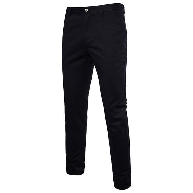 FFXZSJbrand2018 new fashion Mens Casual Pants high quality Brand Work Pants male Clothing Cotton Formal Trousers men size 36 38-cgabuy