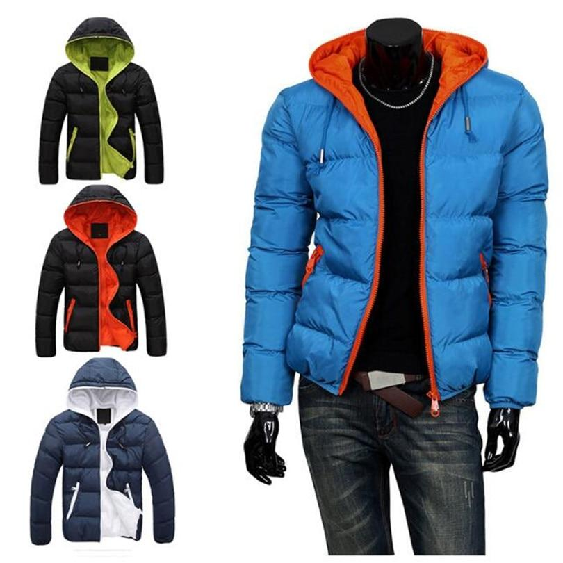 1Pcs Hot Slim 2017 Casual Cotton Cotton Clothing Tops Warm Mens Pop New Hooded Fashion-cgabuy