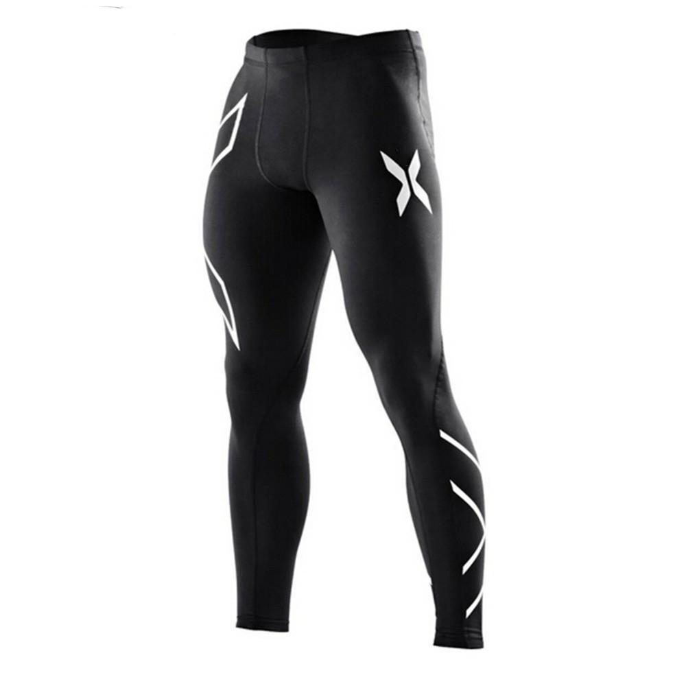 New Brand Clothing Mens Compression Tights Pants Male Sweatpants-cgabuy