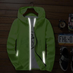 S to 7XL plus size super thin skin jacket sun-protective hip hop Rapper Bboy dancer light-reflective men women windbreaker coat-cgabuy