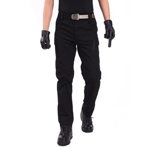 Tactical Cargo Pants Men IX9 Military Army SWAT Pants IX7 Male Casual Thin Many Pockets Paintball Combat Black Cargo Trousers-cgabuy