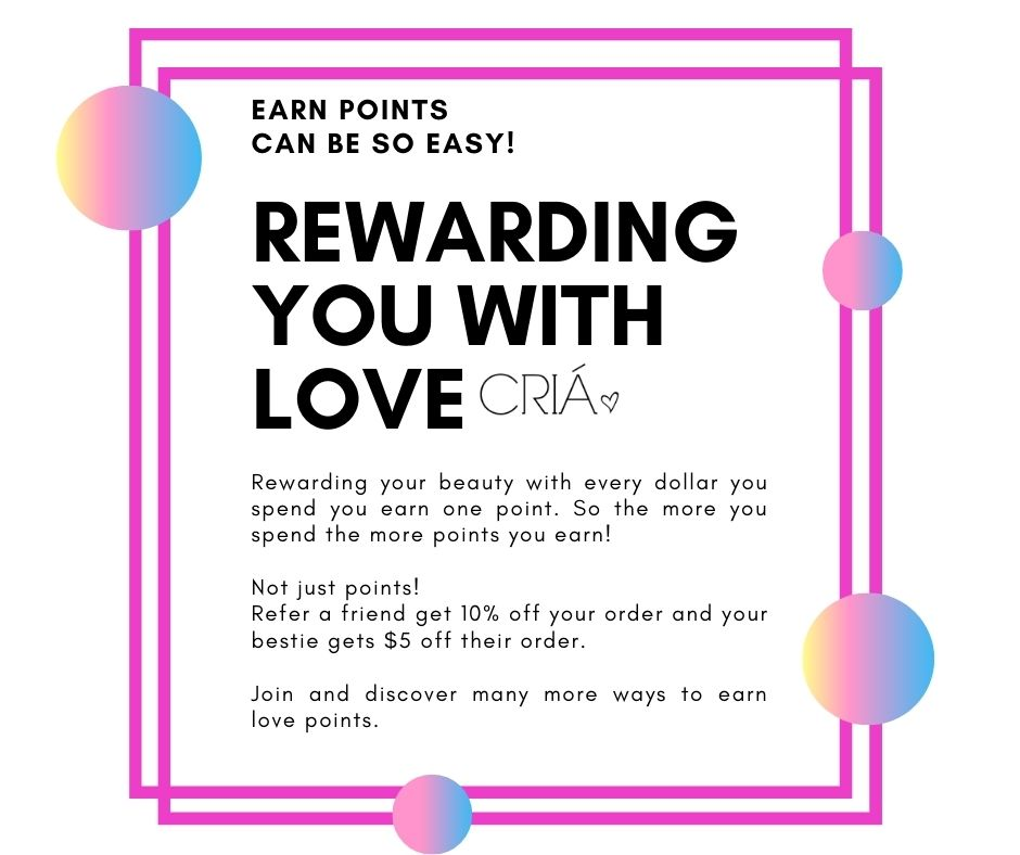 3 Easy ways to join and start earning CRIA love points
