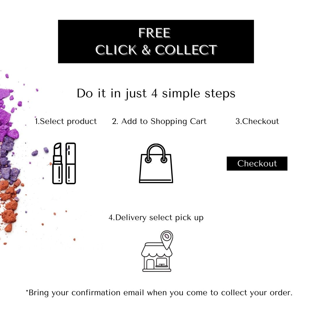Free Click and Collection service for local shoppers in just 4 easy steps