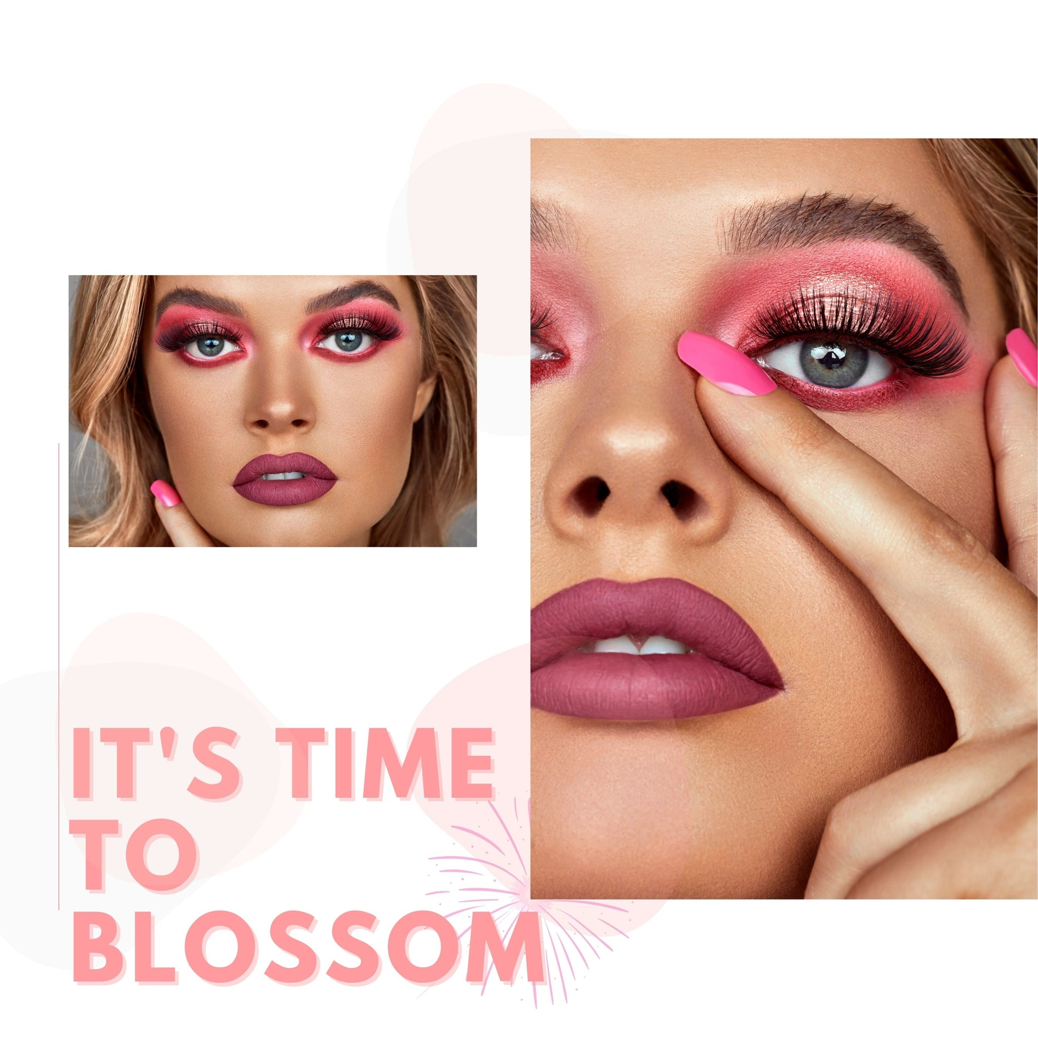 It's time to blossom eye palette
