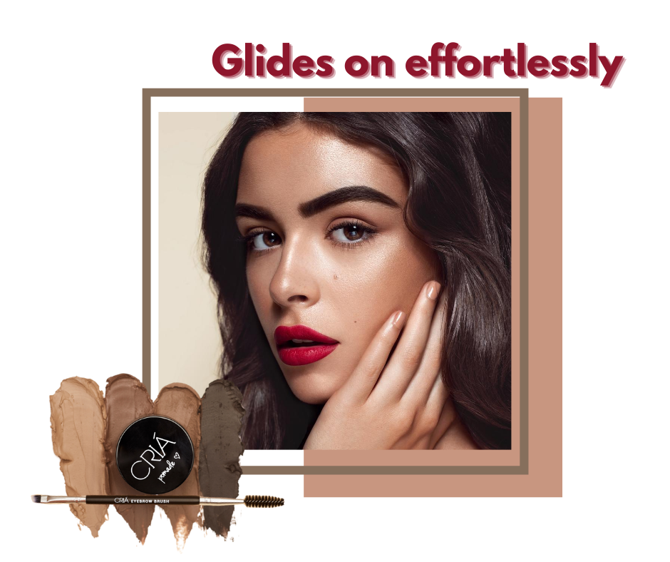 Brow pomades that glides on effortlessly on your brows
