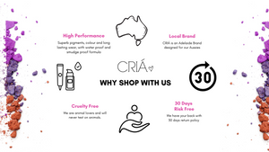 Why shop at CRIÁ, our brand values
