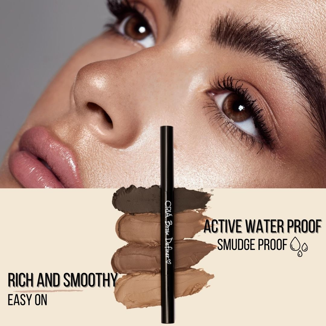 Easy to apple and water and smudge proof Brow Liner