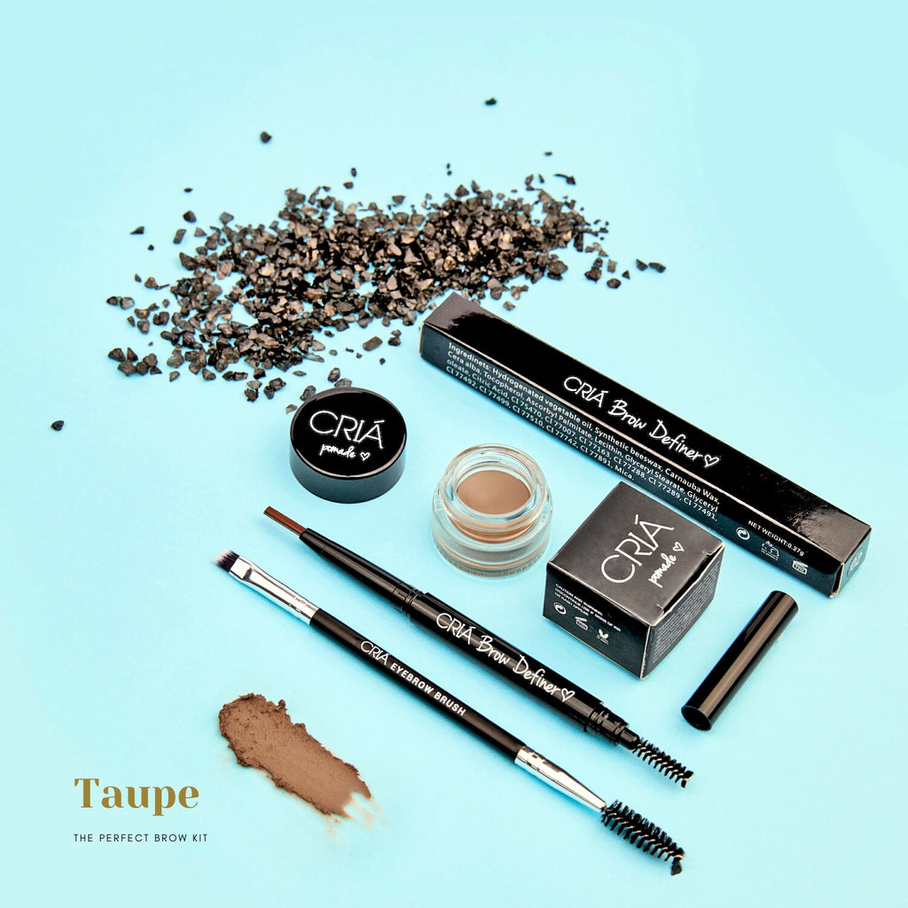 Perfect Brow Trio Kit (Taupe) - CRIÁ Cosmetics