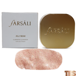 farsali, farsali highlighter, farsali illuminator, rose gold highlighter, rose gold illuminator, rose goals, glow up farsali, farsali glow up highlighter illuminator, shiny highloighter, metallic highlighter
