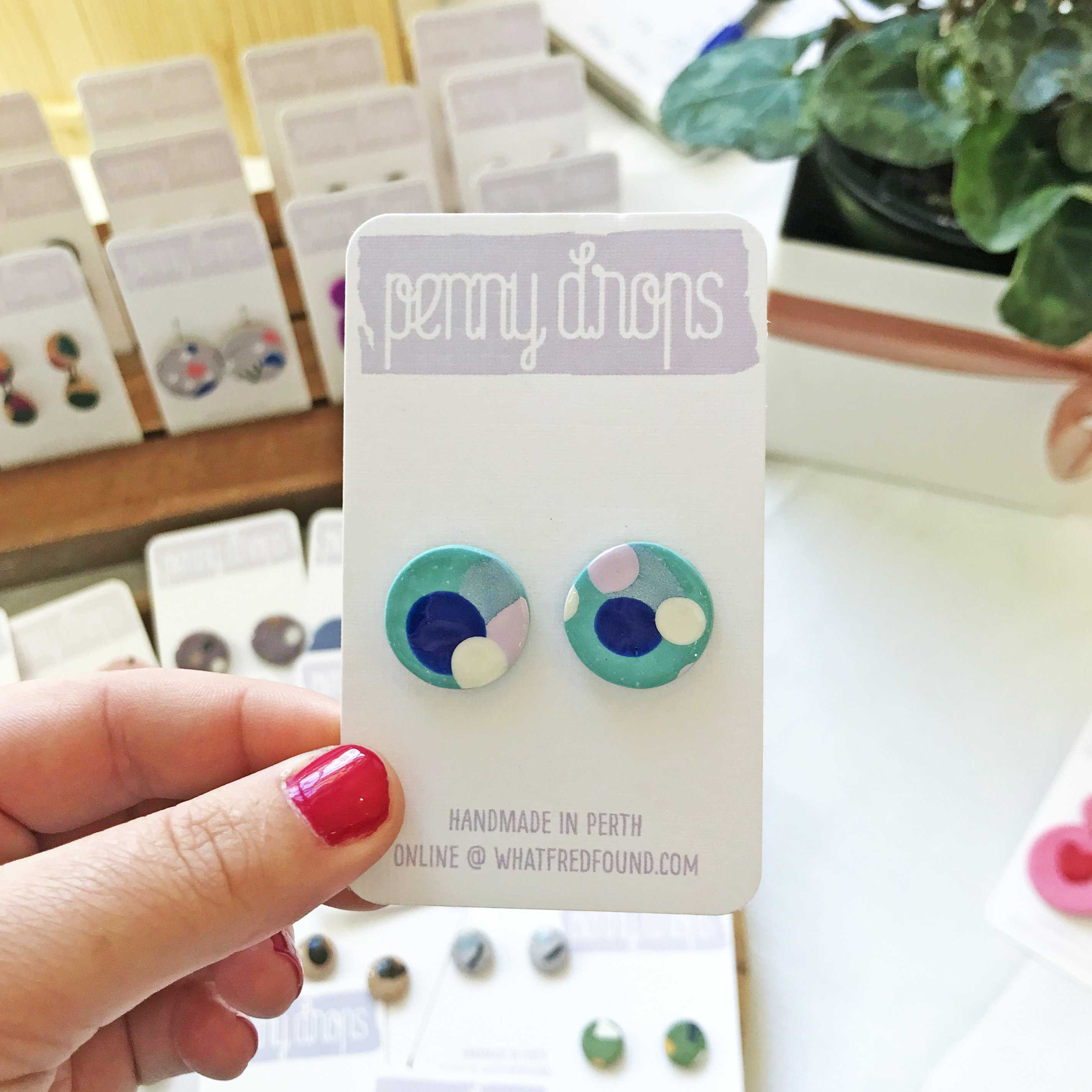title | What Fred Found - polymer clay jewellery and earrings