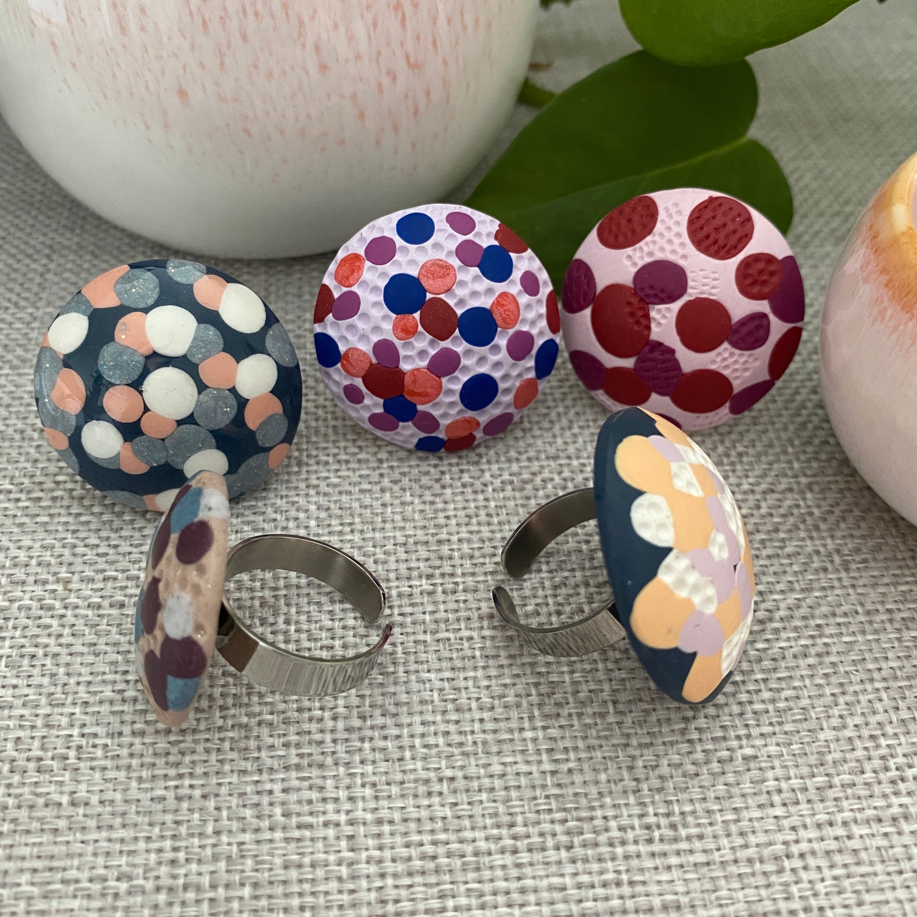 Spotty Rings | Round