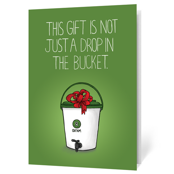 Oxfam Bucket (Illustrated)