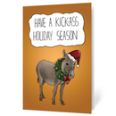 Holiday Donkey (Illustrated) - thumbnail