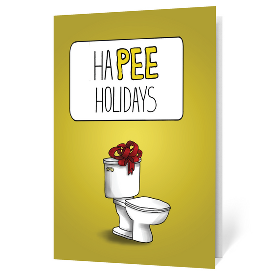 Holiday Toilet (Illustrated)