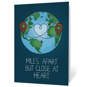 Miles Apart (Illustrated)