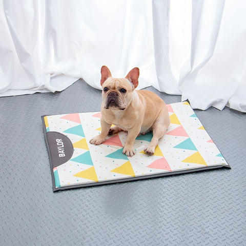 Dog Beds for Large Dogs Summer Cool Pet Bed for Dogs French Bulldog Puppy Mat Cama Perro Ice Silk Hondenmand Pet Beds Mascotas