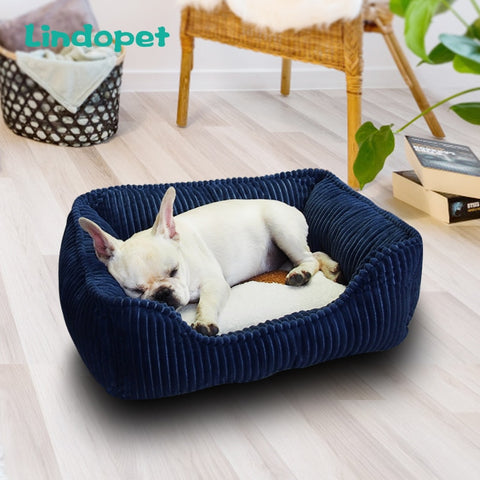 small medium pet dog bed hondenmand  for large dogs corduroy