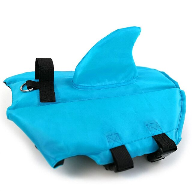 Life Guard Vest Shark For French Bulldog