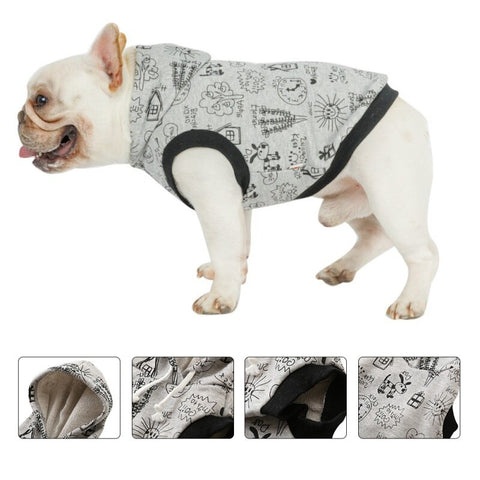 Winter Warm Pet Dog Jacket Vest Reflective Clothes For Small Medium Large Dogs Puppy Outfits Pet Coat French Bulldog Clothing