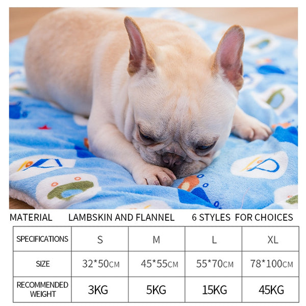 Breathable Soft Sleeping Mat For French Bulldogs