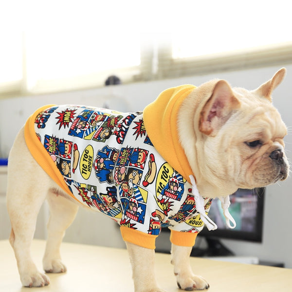 French Bulldog  Autumn Hoodie