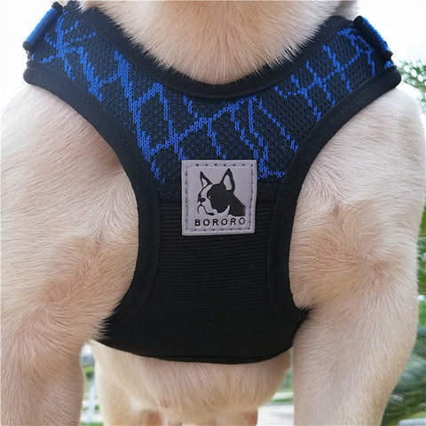Sport X3 Breathable Harnesses  for  French Bulldog