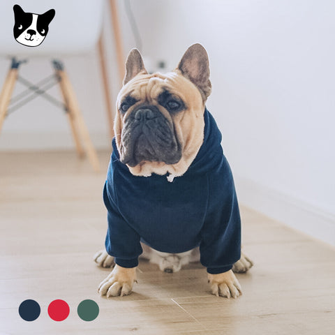 Dog Clothes Dog Sweater Fleece Hoodie Mink Cashmere Dog Shirt French Bulldog Chihuahua Cat Shirt Pet Clothes Ropa Perro Puppy