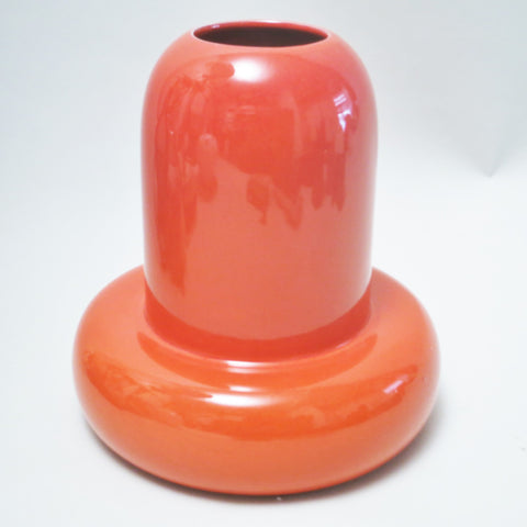 Vase orange Ambrogio Pozzi