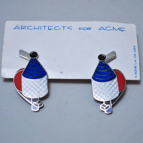 Boucles d'oreilles #1 Richard Meier Acme Studio