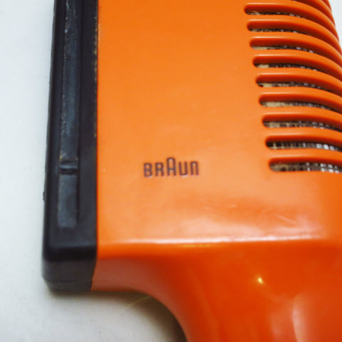 Sèche-cheveux orange Type 4402 Braun Reinhold Weiss