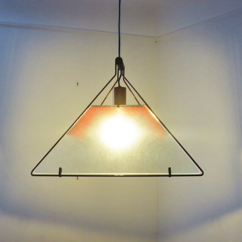 Suspension Trapezio Salvati Tresoldi Luci 1980