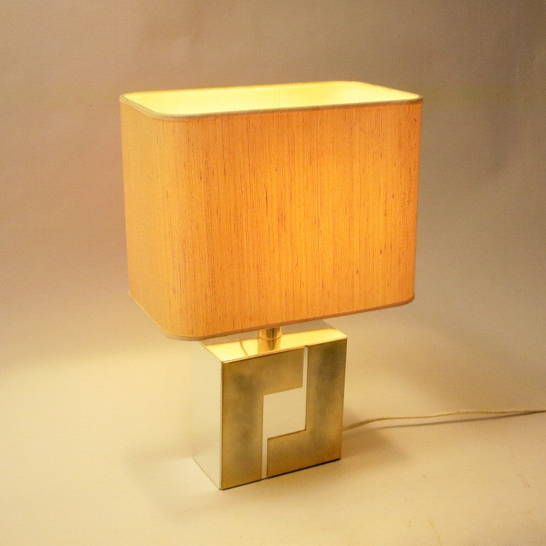 Lampe De Table Willy Rizzo By Anonyme Modernariato