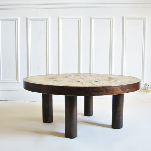 Table basse Garrigue Roger Capron Vallauris 1970