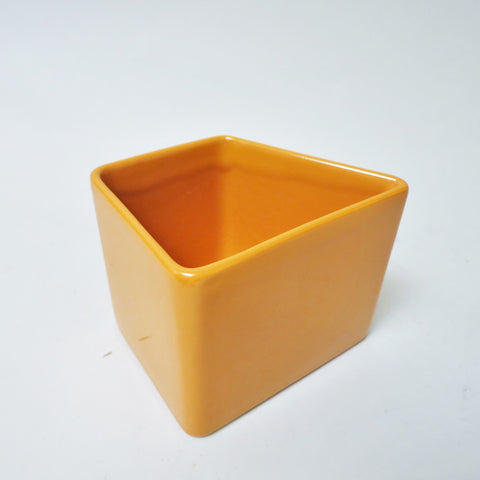 Vase orange Aldo Cotti Tronconi 1970