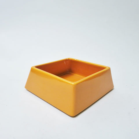 Vide-poche orange Aldo Cotti Tronconi 1970