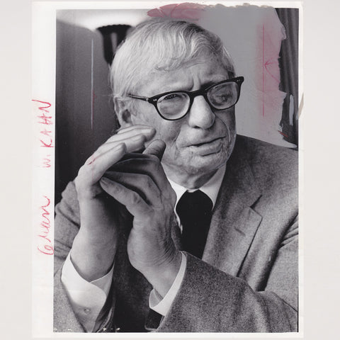 Photographie Louis Kahn Portrait