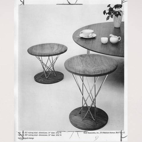 Photographie Table Noguchi Knoll