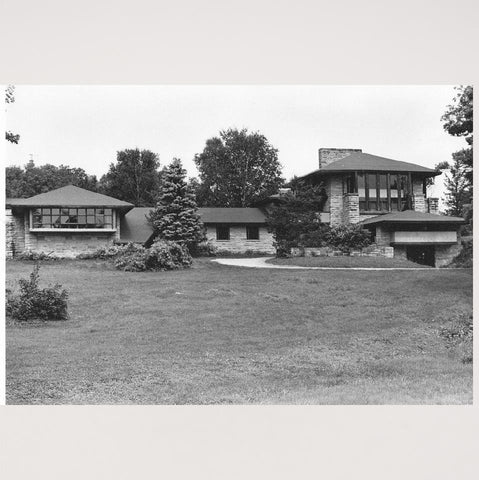 Photographie Batiment de Hillside School par Frank Lloyd Wright