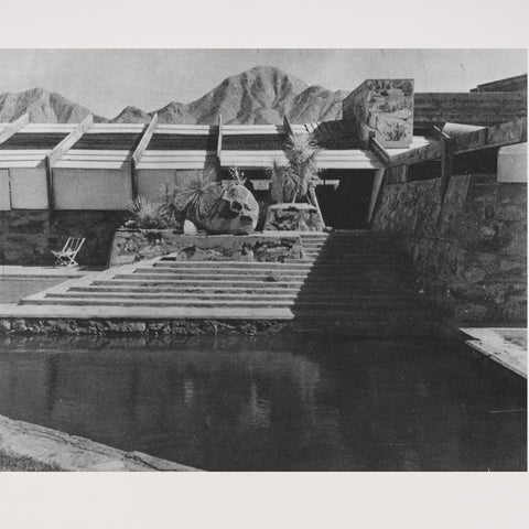 Photographie Batiment de Taliesin par Frank Lloyd Wright 1961