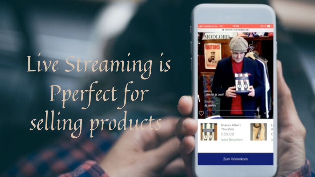 Live Streaming is the Best Way to Promote Your Product