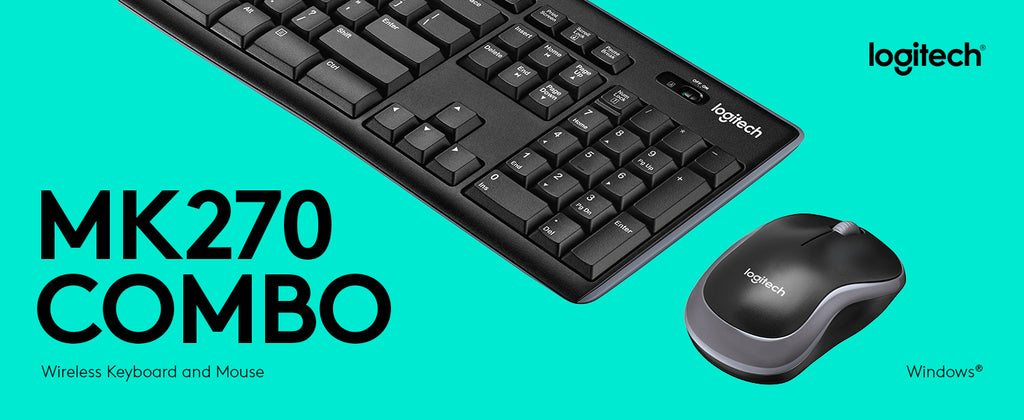 Logitech MK270 Wireless Keyboard Combo set logitech craft mk220 mk270 mk320 mk520 mk550 mk850 logitech Multimedia ergonomic keyboard Optical Mouse Combo Office keyboard Bundle best keyboard for typing microsoft keyboard best wireless keyboard mouse combo banner - iMartCity