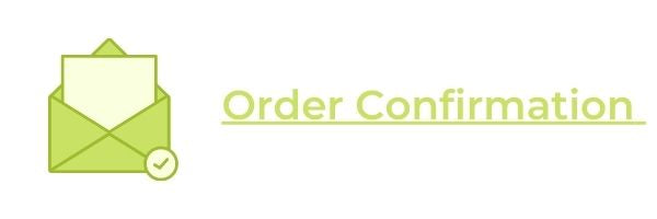 Shopping Procedure order confirmation
