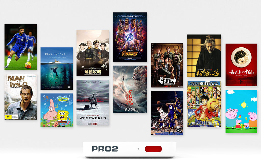 imartcity Unblock Tech UBox Pro2 Generation 6 TV Box Hong Kong Edition Free TV programs Watch Movies